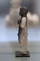 Statuette of a worshipper wearing a kaunakes skirt