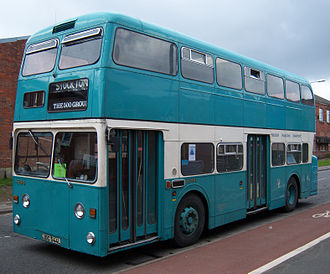 Daimler Fleetline - Preserved Teesside Municipal Transport Northern Counties bodied Daimler Fleetline in April 2012