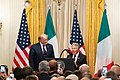 President Trump Meets With the President of the Italian Republic (48913262393).jpg