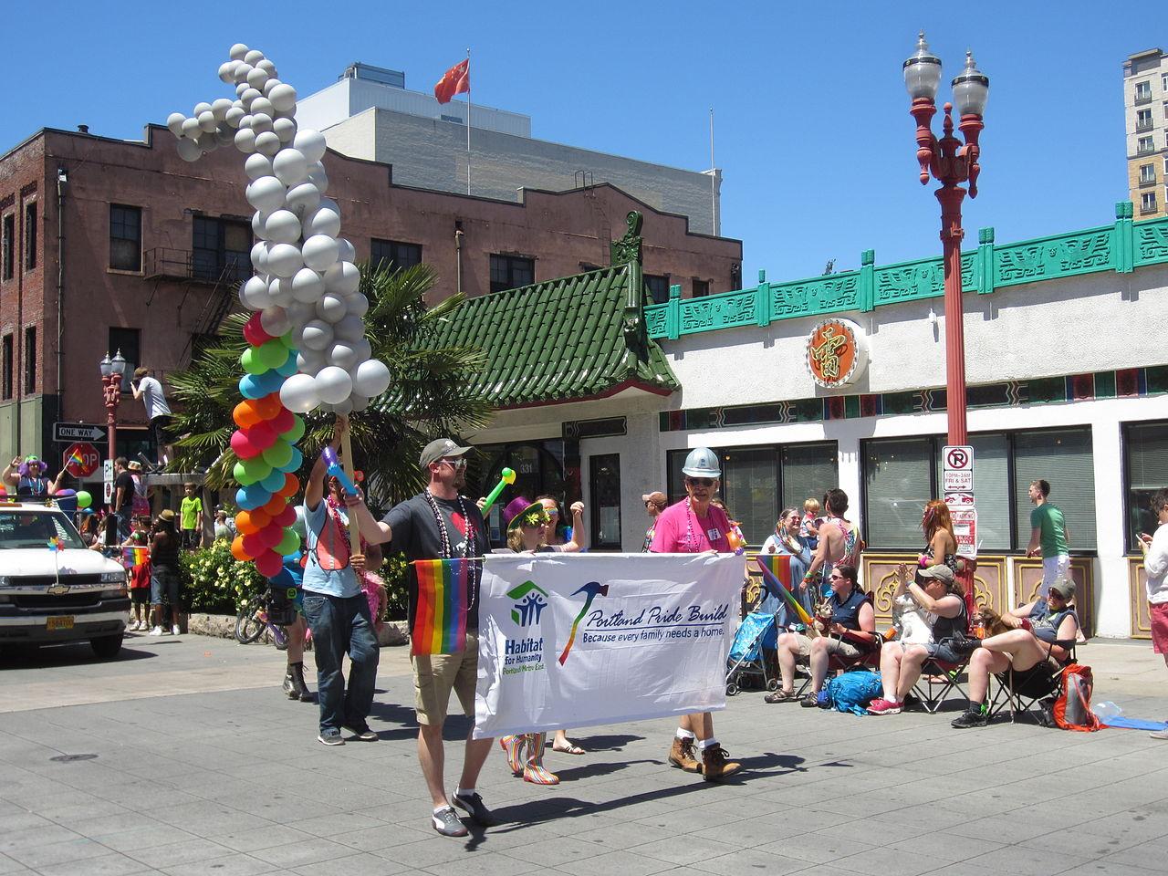 gay pride parade in portland