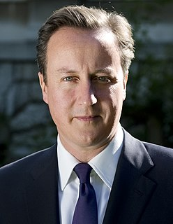 David Cameron Prime Minister of the United Kingdom from 2010 to 2016