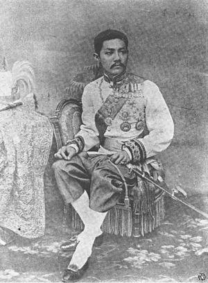 Bhanurangsi Savangwongse - HRH Prince Bhanurangsi Savangwongse