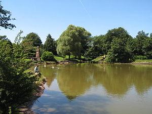 Prince's Park, Liverpool - Prince's Park Lake