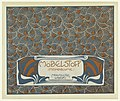 Print, Mobelstoff Mondblume Meauquettes Weberei (Moon Blossom Woven Upholstery Fabric Maquette), plate 3, in Die Quelle- Flächen Schmuck (The Source- Ornament for Flat Surfaces), 1901 (CH 18670525).jpg