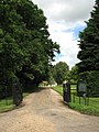 Private entrance and drive to Mannington Hall - geograph.org.uk - 878931.jpg