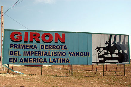 Poster in Bay of Pigs Propaganda a Cuba 07.jpg