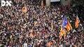 File:Protesta massiva davant la comissaria de la Policia Nacional a la Via Laietana de Barcelona.ogv