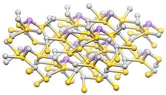 Sulfosalt minerals - Image: Proustite