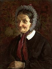 Portrait of Mrs Matlińska.