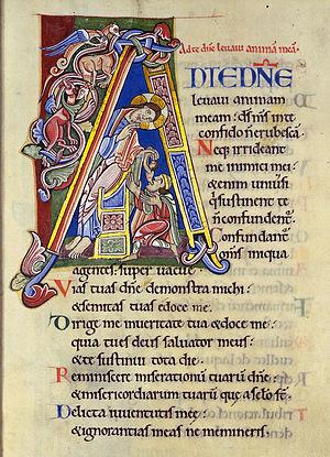 Psalm 24 (Vulgata, hebr./modern: Psalm 25), In...
