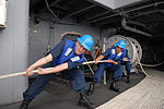 Pulling together aboard the USS Ronald Reagan DVIDS114883.jpg
