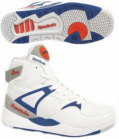A modern line of Reebok Pump shoes 78c4d061dd