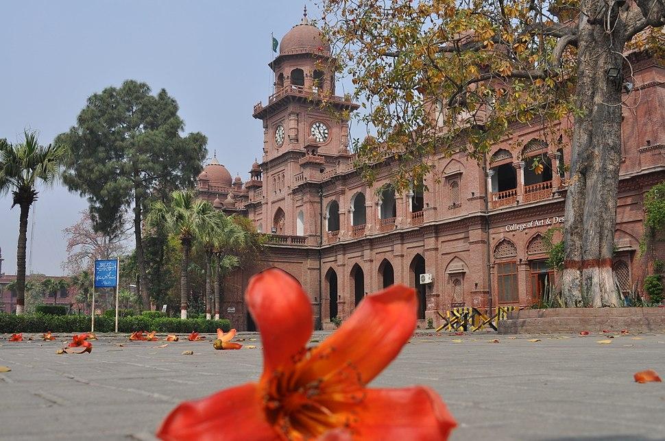 Punjab university Art & Design Department