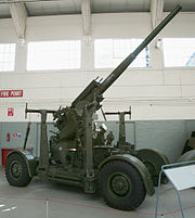 QF 3.7 inch gun RAF Duxford