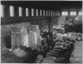 Quartermaster supplies in warehouse at base, Vladivostok, Siberia., ca. 1918 - ca. 1919 - NARA - 542459.tif