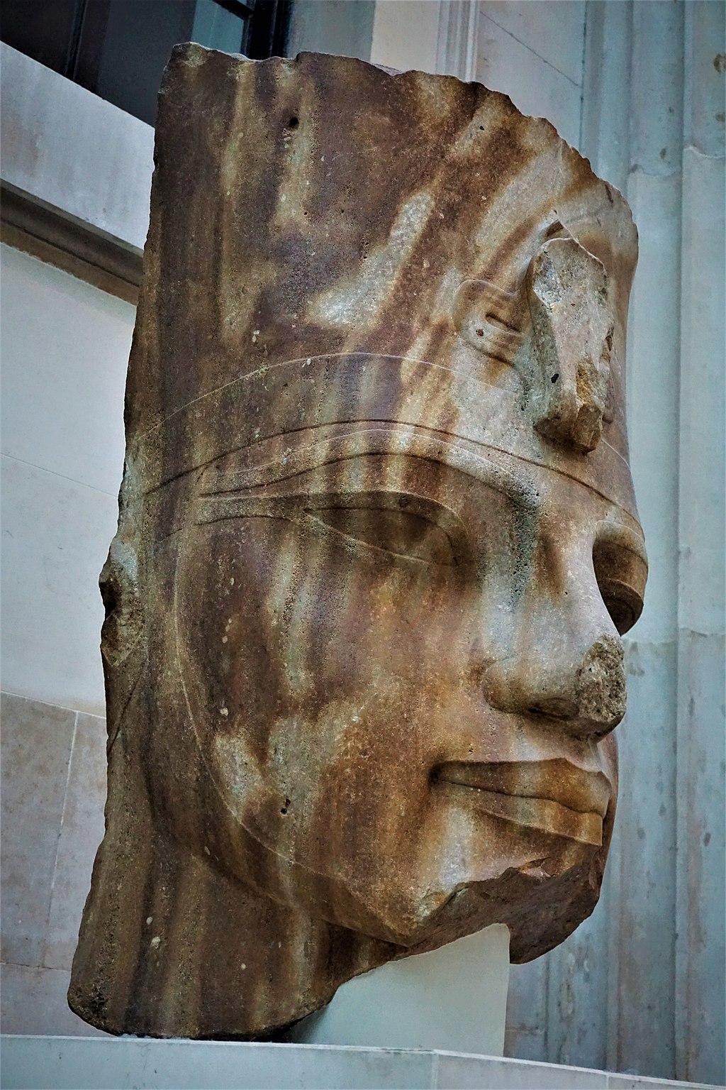 Quartzite Head of the Egyptian Pharaoh Amenhotep III - Joy of Museums