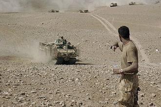 BvS 10 - Queen's Royal Lancers in Helmand, 2008.