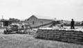 Queensland State Archives 4156 Wheat dump at railway station Pittsworth November 1934.png