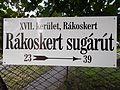 Rákoskert Avenue in Rákosmente, 2016 Hungary.jpg