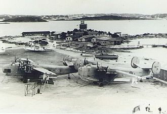 Royal Air Force, Bermuda (1939–45) - RAF Darrell's Island during World War II.
