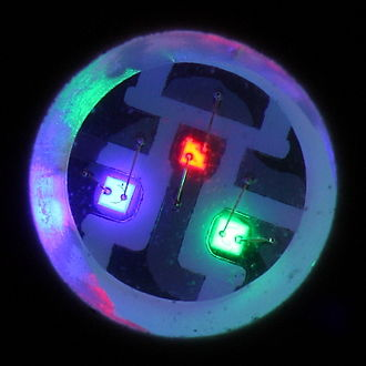 Die (integrated circuit) - Image: RGB SMD LED