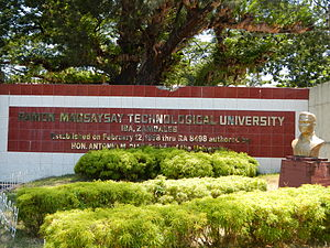 Ramon Magsaysay Technological University - Image: RMT Ujf 9490 09