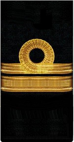 Commander - нарукавный знак флота 1917