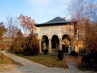 Ion Creangă - Ion Creangă's home (present-day Creangă Museum) in Golia Monastery