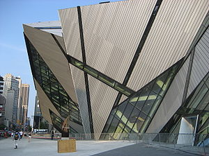 Recreation in Toronto - The recently opened Michael Lee-Chin Crystal, an addition to the Royal Ontario Museum.