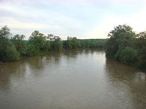 Someș (river) - The Someș at Letca, Sălaj County