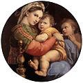 Raffaello, madonna della seggiola 01.jpg