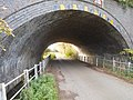 Rail bridge on Wagg Drove, Huish Episcopi, Somerset 01.jpg