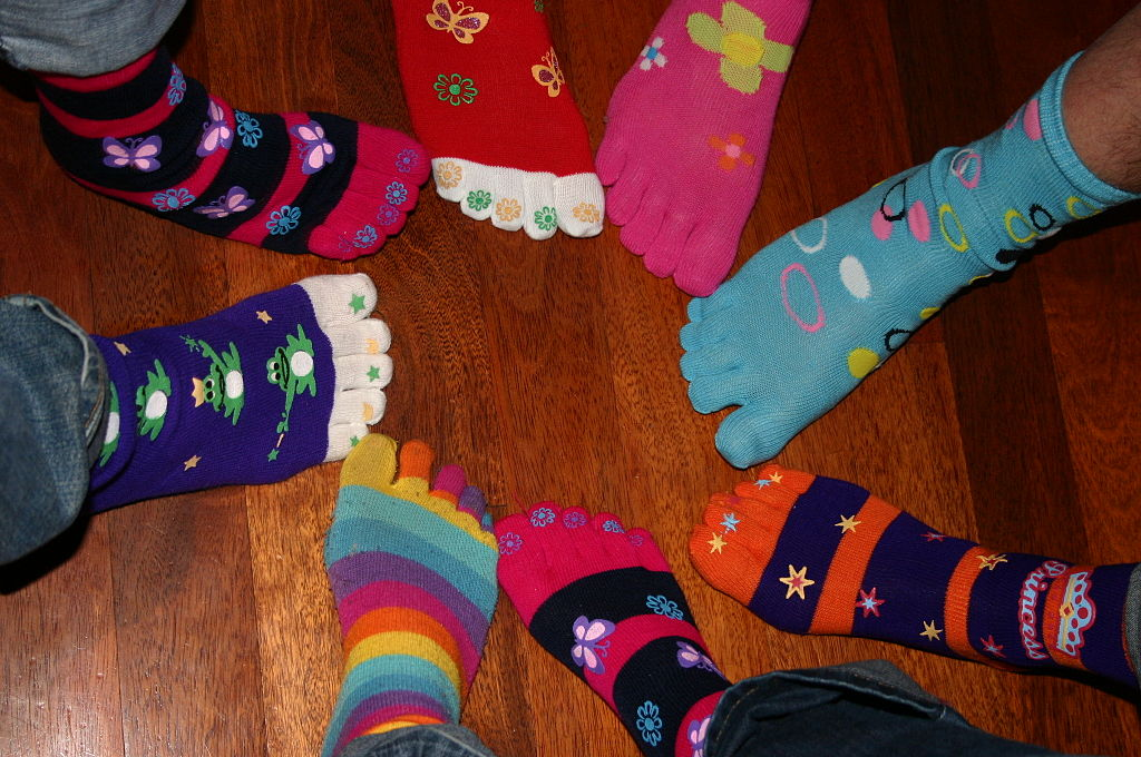 Pair Kids Shoes Images