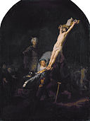 Raising of the Cross, by Rembrandt van Rijn.jpg