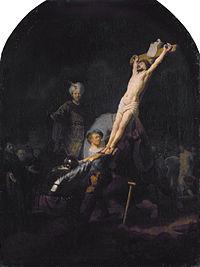 Raising of the Cross, by Rembrandt van Rijn.jpg