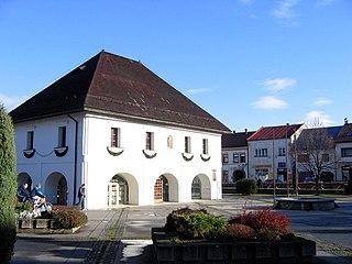 Rajec Town in Slovakia