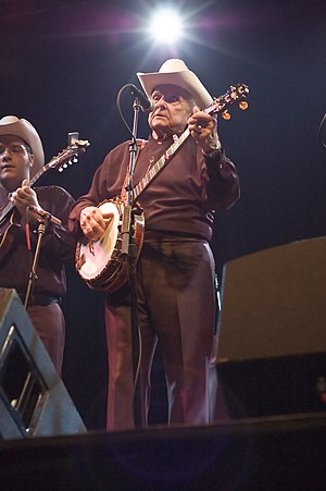 Bluegrass music - Ralph Stanley on April 20, 2008 at The Granada Theater in Dallas