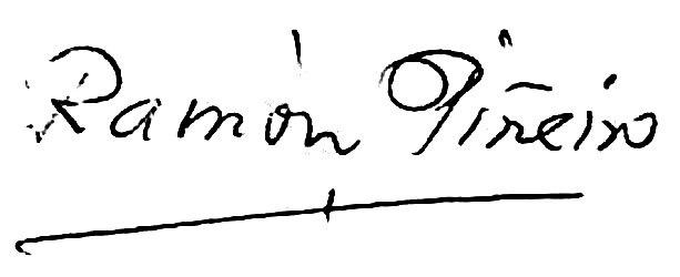 Ramón Piñeiro firma