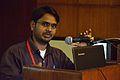 Ranjit Bharti - Presentation - Bahubhasi Network Wikipedia Ke Jan Ke Vistara Ka Ek Ayam - Bengali Wikipedia 10th Anniversary Celebration - Jadavpur University - Kolkata 2015-01-10 3334.JPG