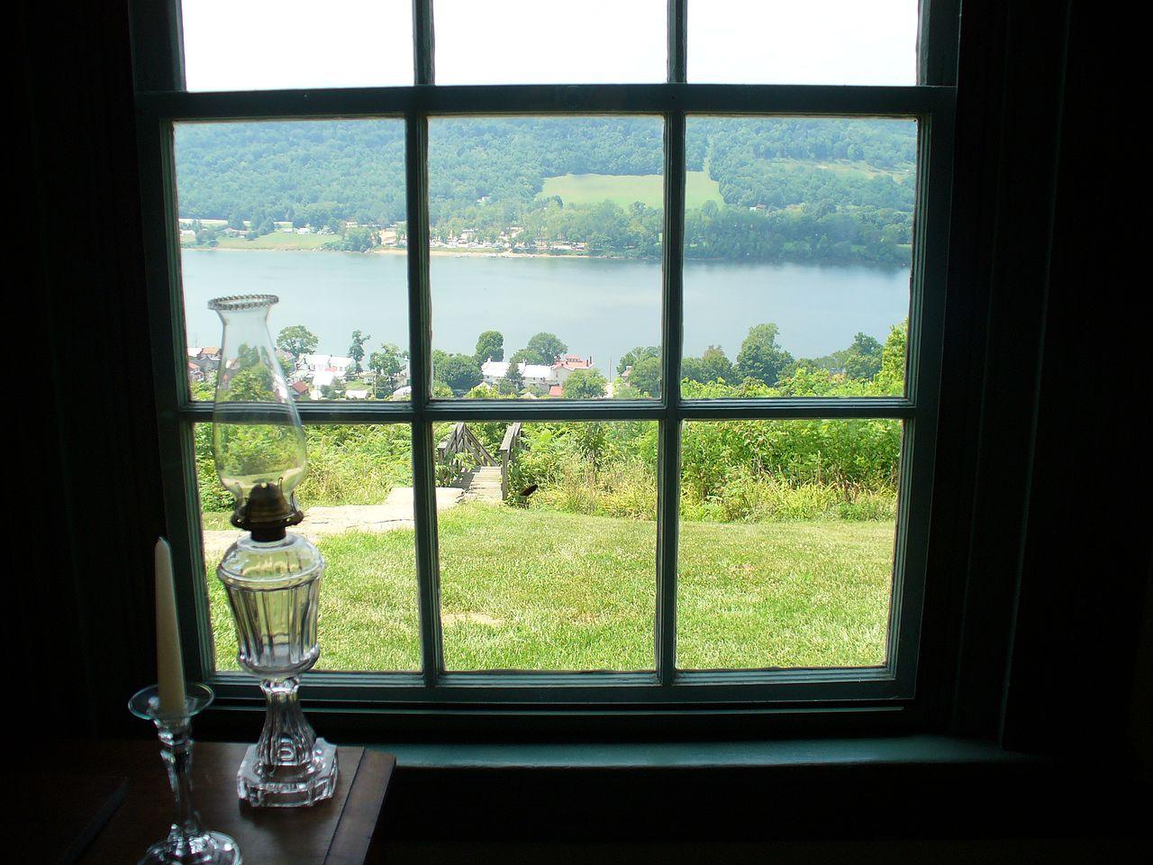 House Windows With View : File rankin house window g wikimedia commons
