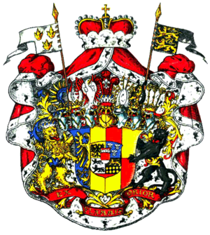 Duchy of Racibórz - Arms of the Dukes of Ratibor and Princes of Corvey