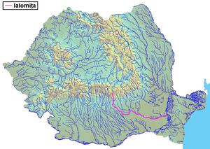 Ialomița (river) - Image: Raul Ialomita
