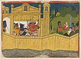 Ravana with his Ministers; Sita in the Asoka Grove.jpg