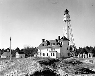 Rawley Point Light lighthouse in Wisconsin, United States