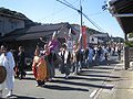 Reappear of the daimyo's procession, at Akasaka, Otowa.jpg