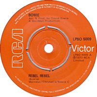 Rebel Rebel by David Bowie UK vinyl pressing.png