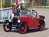 Red Wolseley Hornet, Dutch registration AM-62-91 pic-002.JPG