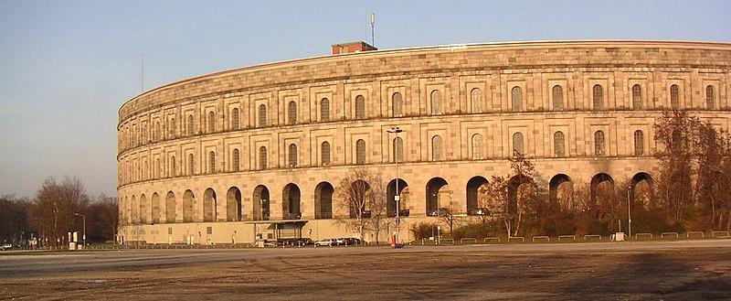 Archivo:Reichsparteitagsgelaende Kongresshalle Schnitt 36.JPG