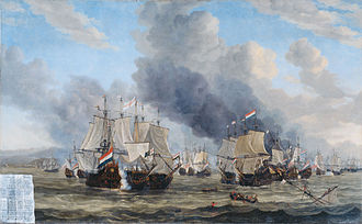 Anglo-Dutch Wars - The Battle of Leghorn, 4 March 1653