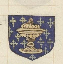 Reino de galicia - escudo de galicia - Frand armorial colorie